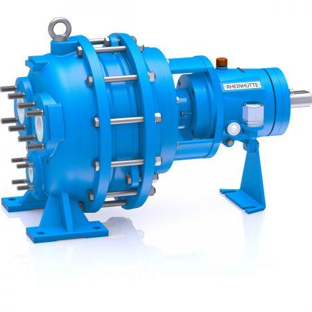 Material Ceramic Design Liquid Ring Vacuum PumpSizeDN 32 - DN 100Delivery rateQmax. = 700 m3/hTemperatureup to +120 °CVakuum operationpsmin = 25 mbara (with gas ejector)Compressor operationpdmax = 2