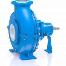 Material Ceramic Design Standardized Chemical Pump (ISO 2858, ISO 5199)SizeDN 32 – DN 150Delivery rateQmax. = 600 m3/hDelivery headHmax. = 90 mTemperature-40 °C to +120 °CNominal pressure10 bar