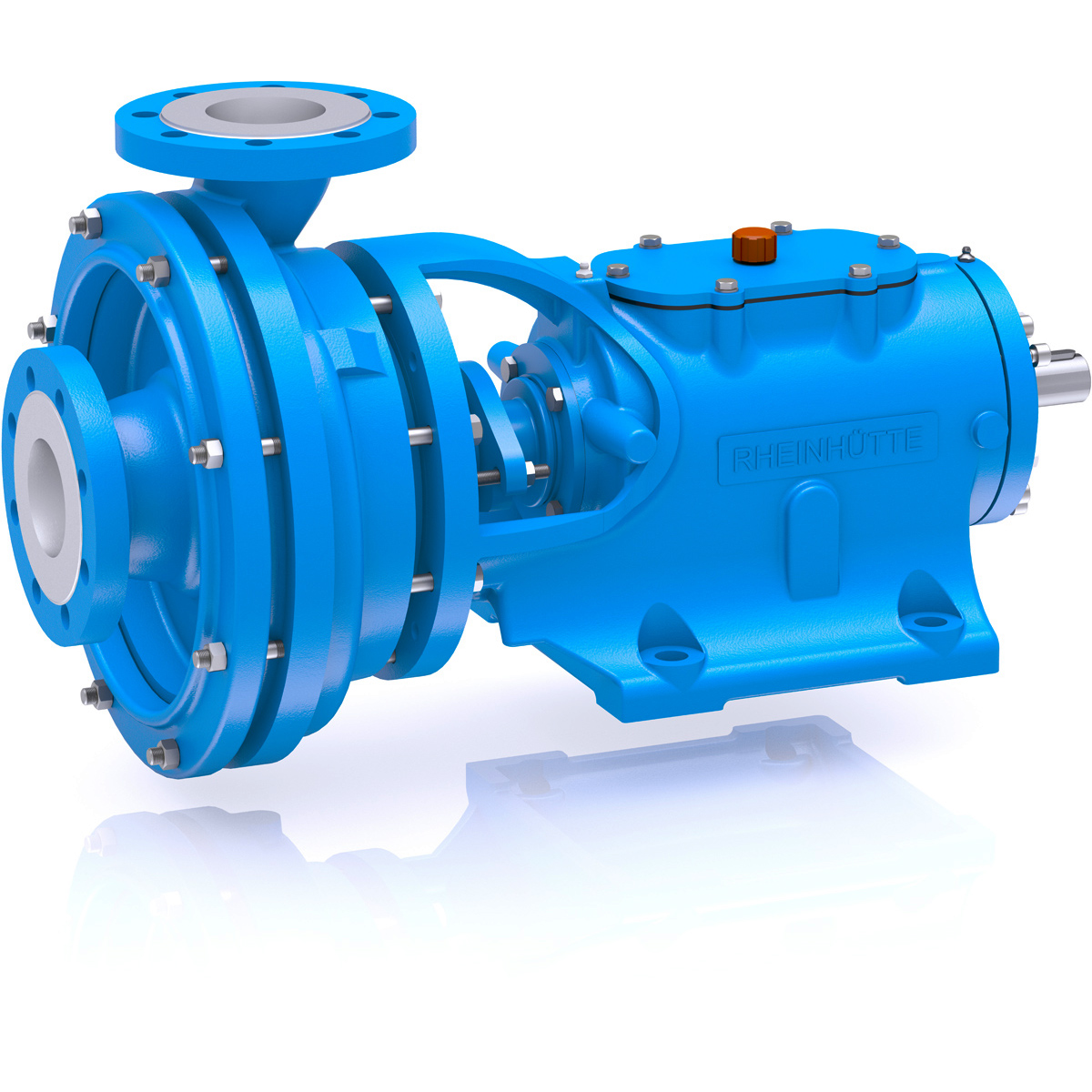 Material Metal Design Pumps for applications according to API 610 (ISO 13709SizeDN 32 - DN 300Delivery rateQmax. = 2.500 m3/hDelivery headHmax. = 180 mTemperature-40 °C to +450 °CNominal pressure16 bar