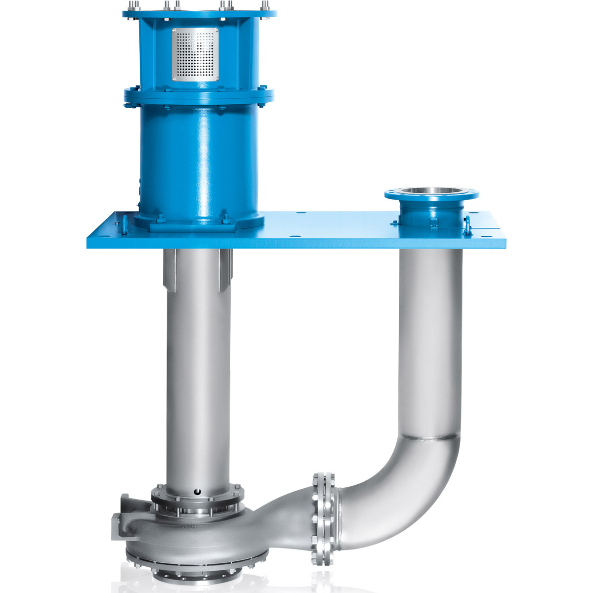 Material Metal Design Pumps for applications according to API 610 (ISO 13709SizeDN 32 - DN 300Delivery rateQmax. = 600 m3/hDelivery headHmax. = 80 mDepthup to 2 mTemperature-40 °C to +200 °CNominal pressure10 bar