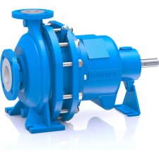 Material Metal Design Standardized Chemical Pump (ISO 2858, ISO 5199)SizeDN 25 – DN 150Delivery rateQmax. = 400 m3/hDelivery headHmax. = 150 mTemperature-40 °C to +250 °CNominal pressure16 bar